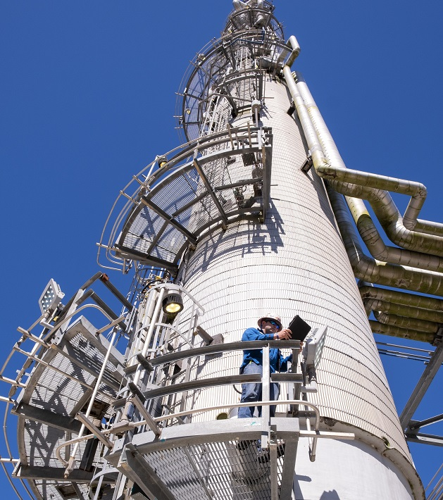 Olefins and Polymers Tower